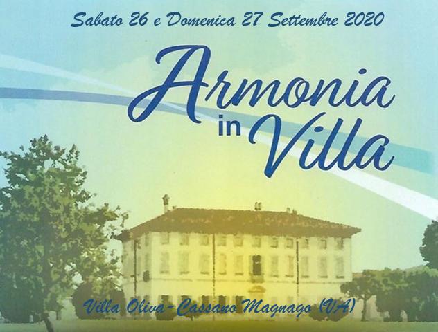 armonia in villa